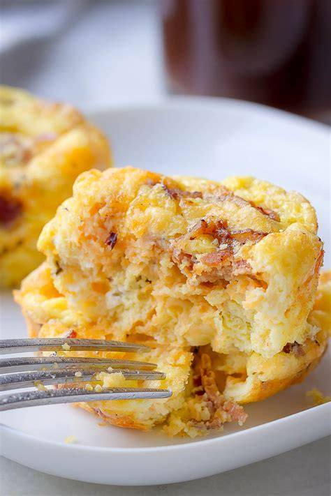Cheesy Bacon Egg Muffins Recipe – How to Make Egg Muffins