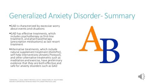 Generalized Anxiety Disorder- What It Is And How To Treat It