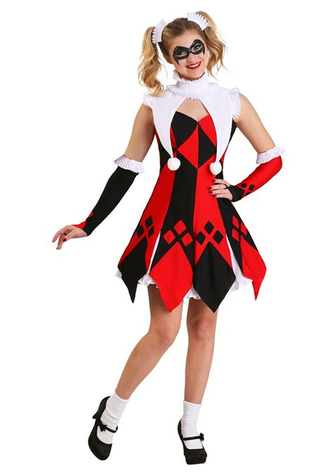 Cute Court Jester Costume for Women