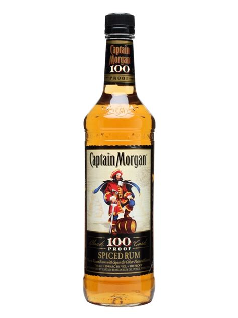 Captain Morgan's 100 Proof Spiced Rum : The Whisky Exchange