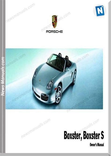 Porsche Boxster Owners Manual 2007