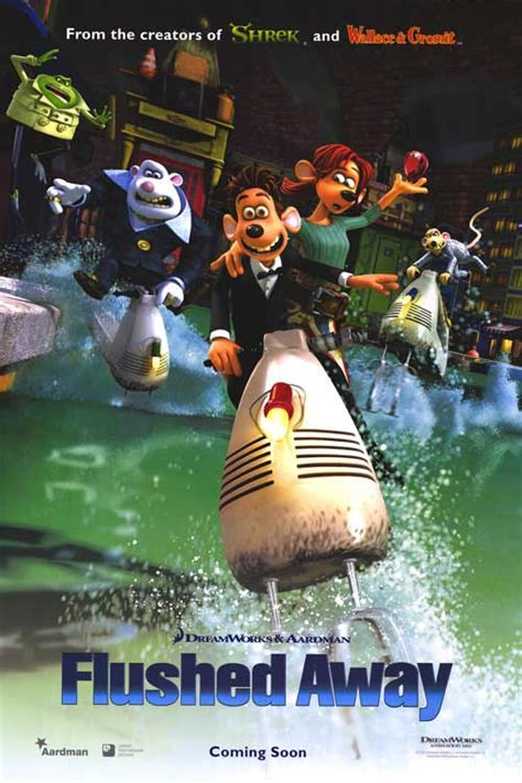 Flushed Away movie posters at movie poster warehouse