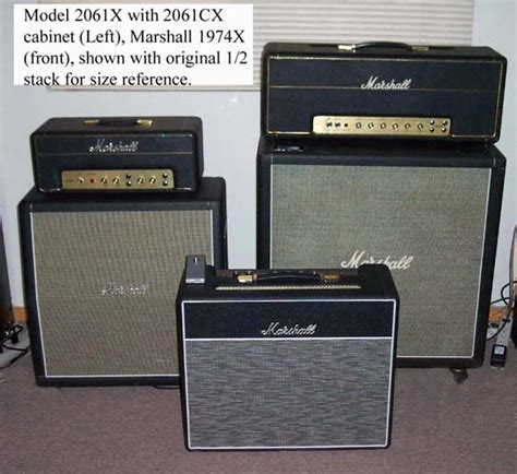Marshall 2061cx 2×12 Extension Cabinet Dimensions
