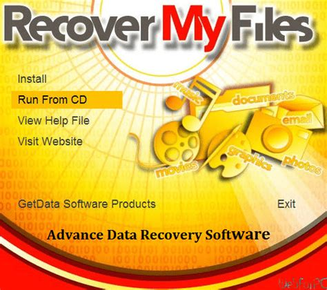 Recover My Files Free Download for Data Recovery - WebForPC