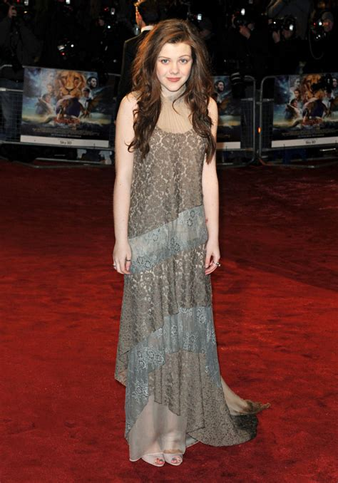 Georgie Henley Picture 6 - Royal Film Performance 2010