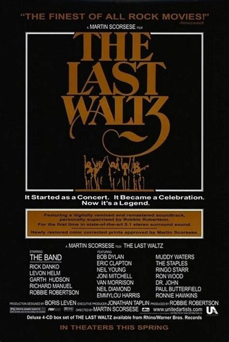 The Last Waltz movie review & film summary (2002) | Roger