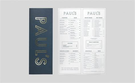 New Brand Identity for Paul's at Haymarket by 25AH — BP&O