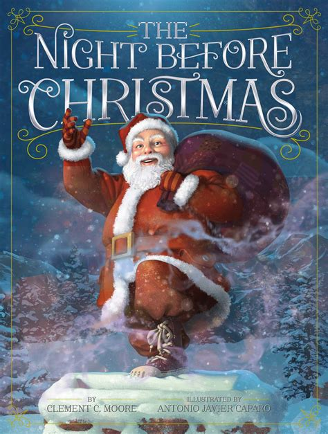 The Night Before Christmas   Book by Clement C