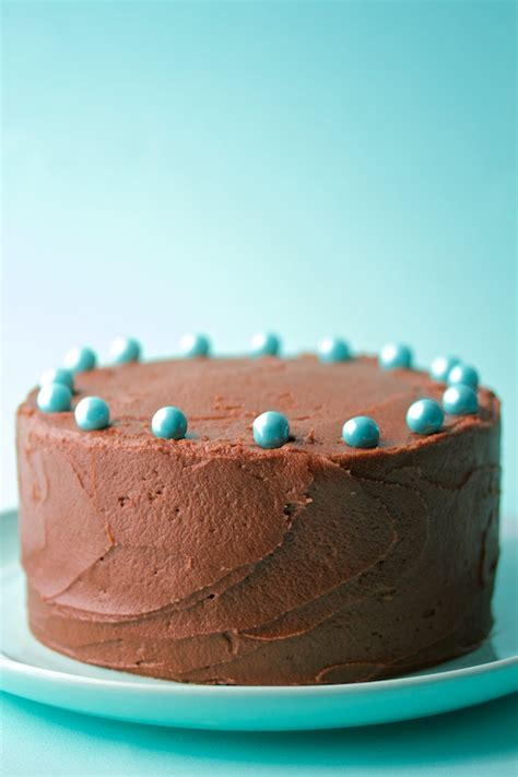 6-inch chocolate cake with chocolate frosting | movita